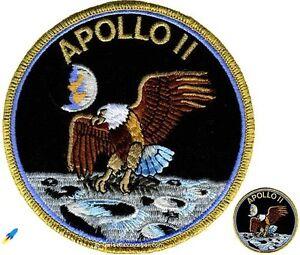 NASA Apollo 11 Mission Lapel Pin Amp Patch Set | eBay