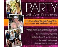 Book your FREE Ann Summers Party TODAY!!!