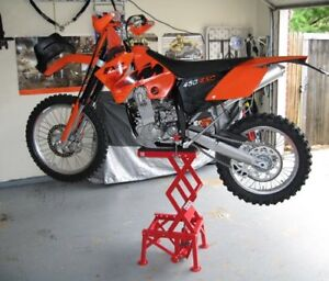 Motocross bike work