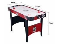 4ft Hy-Pro Air Hockey table as new condition with Air powered Puck. snooker pool