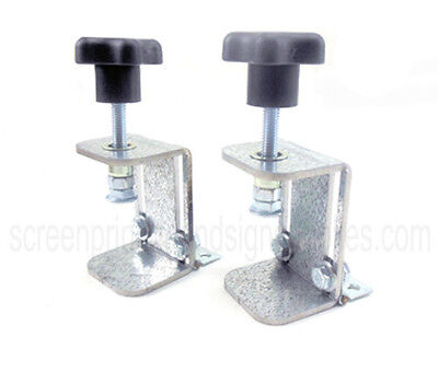 Adjustable Off-contact Screen Printing Hinge Clamps - Better Than Speedball