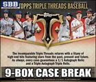 Triple Threads Boston Red Sox Sports Trading Cases