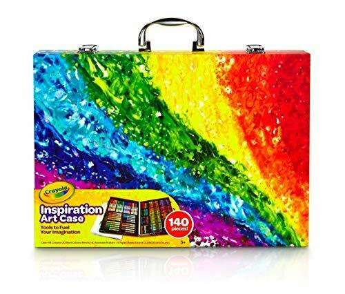 Crayola Inspiration Art Case Coloring Set, Gift for Kids Age