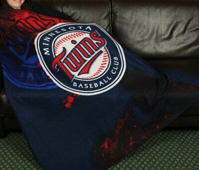 Minnesota Twins MLB Baseball Fleece Throw Blanket by Northwest Minnesota Twins Throw
