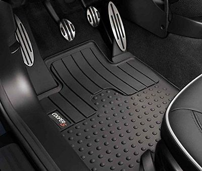 GENUINE MINI FRONT ALL WEATHER MATS FOR COOPER S R555657 0711 51472243917