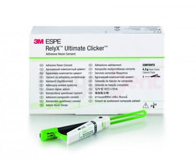 Dental Relyx Ultimate Clicker Adhesive Pure Resin Cement By 3m Espe