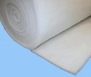 """NEW 27"""" WIDE 7 oz UPHOLSTERY DACRON/ POLYESTER QUILTING/ WADDING/ PACKAGING"""