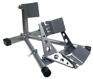 MOTOR CYCLE WHEEL CHOCK / STAND - CLENTEC