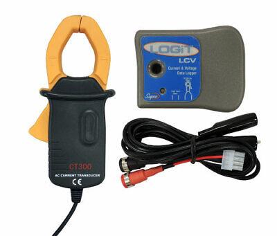 Supco Logit Lcv Current Voltage Data Logger W Ac Current Clamp