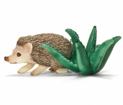 Schleich 14676 Four-toed SMILING Hedgehog Miniature/ RETIRED NEW & SEALED 2011