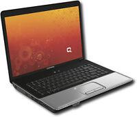 Compaq Dual Core 15.4po, 2Gb/120Go, Windows 7, À lire !!!