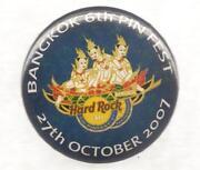 Hard Rock Cafe Button
