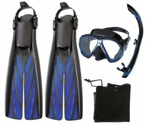 Atomic Snorkel Kit - Split Fins