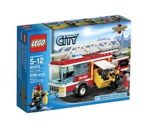 LEGO City Fire Truck 60002, Free Shipping, New
