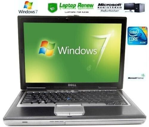 Laptop Windows - Dell Laptop Duo Windows 7 Pro 1 Year Warranty RS232 Serial Com Port New Battery