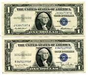 1935 D One Dollar Silver Certificate