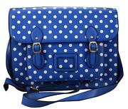 Blue Vintage Satchel