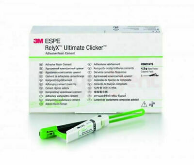 3m Espe Relyx Ultimate Clicker Adhesive Pure Resin Cement Dental Free Shipping