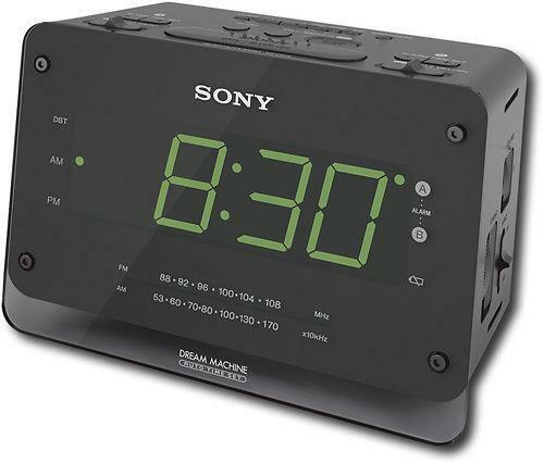 clock radio ebay. Black Bedroom Furniture Sets. Home Design Ideas