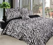 Zebra Quilt Cover