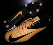 Black Yellow Football Cleats
