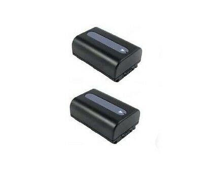 Snapit Two 2x Batteries For Sony Np-fh30 Np-fh40 Np-fh50 ...