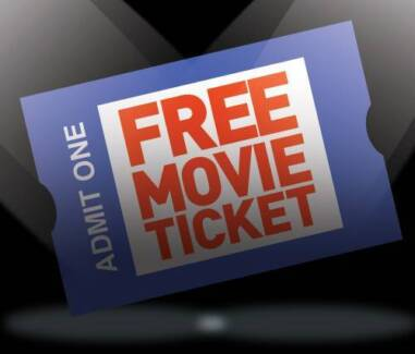 FREE MOVIE TICKET - when you get any Onsite or Remote service Sydney City Inner Sydney Preview