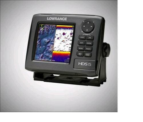 Lowrance fish finder hds 5 ebay for Fish finder lowrance
