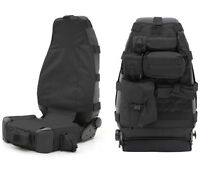 Amazing!!! Tactical/Hunting Jeep Wrangler Seat Cover Black Color