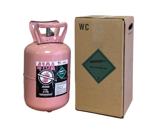 R410A Refrigerant FACTORY SEALED 5 LBS.  QUICK SAME DAY Shipping by 3pm!