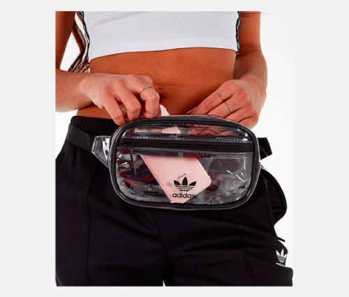Adidas Originals Clear Fanny Pack Transparent Waistpack Fest