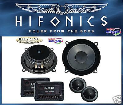 Lautsprecher Hifonics für BMW E36 Cabrio vorne 130 mm Komponentensystem