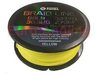 Masterline Sport Fisher Braid Chartreuse/Yellow - 150yd Spool BRAND NEW RRP £9.99