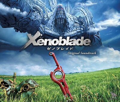 Xenoblade Original Soundtrack CD?4 Disc?