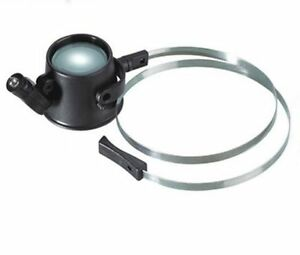 Loupe Hands Free 15x with led light