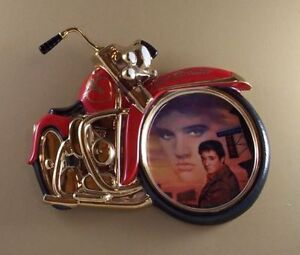 ELVIS PRESLEY LIMITED EDITION HEARTBREAKER MOTORCYCLE PLATE