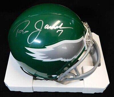 5d4941fc379 Ron Jaworski Signed Philadelphia Eagles Mini Football Helmet JSA  Authenticated