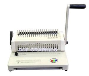 New Cerlox Comb Binder and Puncher Combo + free combs; report binding