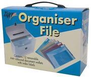 A4 Plastic Box File