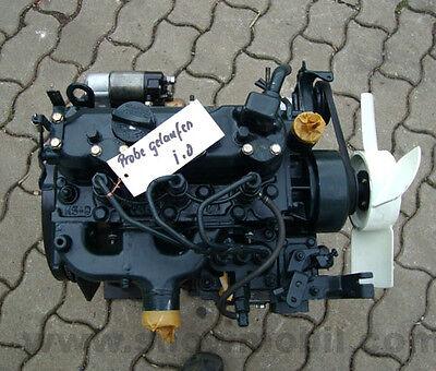 Diesel Motor Kubota D850 19,8PS 855ccm gebraucht  - Kubota Diesel Motor