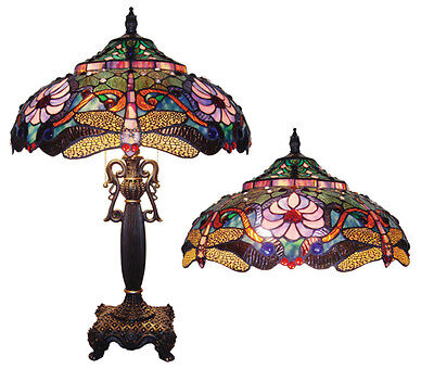 A buyers guide to u201cTiffany Styleu201d stained glass lamps and windows | eBay