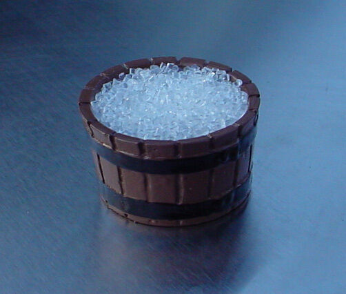 Barrel of Ice Miniature 1/24 Scale G Scale Diorama Accessory Item