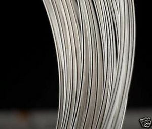AWG28 0.3MM Solid Core UPOCC SILVER Audio BARE WIRE 40M