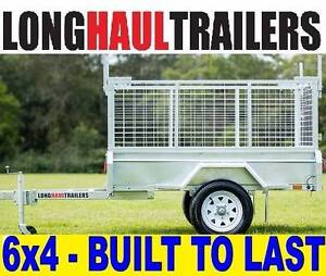 6x4 Welded LONG HAUL BOX TRAILER ★Galvanised  ★600mm CAGE ★TIPPER Sumner Brisbane South West Preview