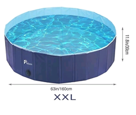 Size XXL swimming/paddling pool