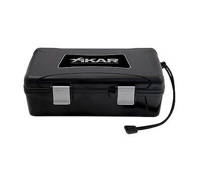 XIKAR Cigar Case Travel Humidor 10CT - 210XI