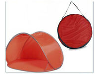 Beach Shelter - Red pop-up RRP £25 FREE First come first served