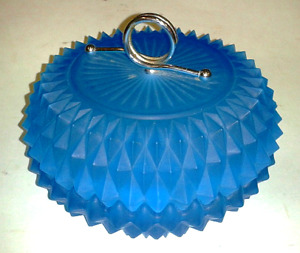 Vintage/Antique Blue Glass Bowl