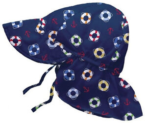 Girls Boys Baby SUN HAT iPlay Swimming SunScreen Scalp Neck Ears Protection NEW