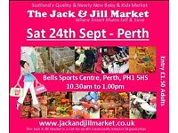 PERTH Jack & Jill Market - Sat 24th Sept